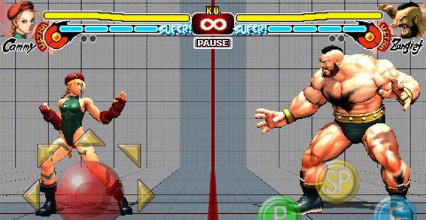 Zangief e Cammie arrivano su Street Fighter IV per iPhone