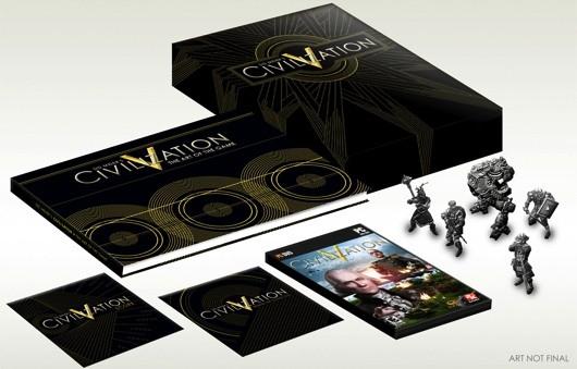 Un'edizione da collezionisti per Civilization V