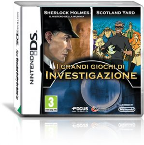 Sherlock Holmes: The Mystery of the Mummy per Nintendo DS
