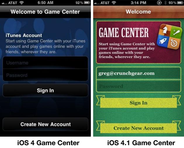 Apple cambia la faccia a Game Center