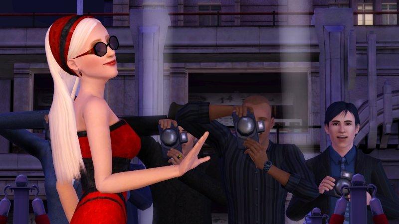 I Sims e la notte