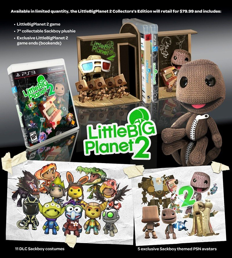Data di uscita e Collector's Edition per LittleBigPlanet 2 in USA
