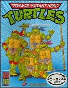 Teenage Mutant Ninja Turtles per Commodore 64
