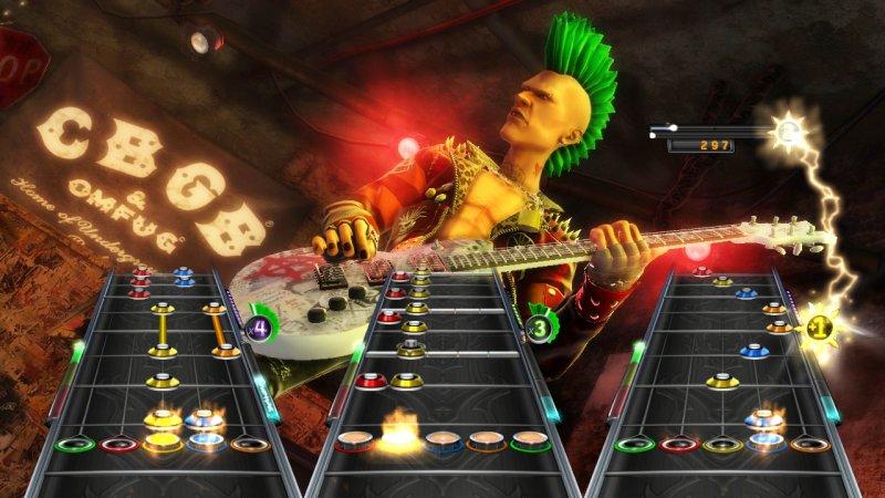 Gli esordi su Guitar Hero: Warriors of Rock