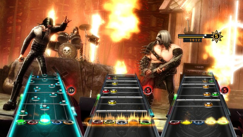 Nuove da Guitar Hero: Warriors of Rock disponibile e l'Hard Rock Cafe