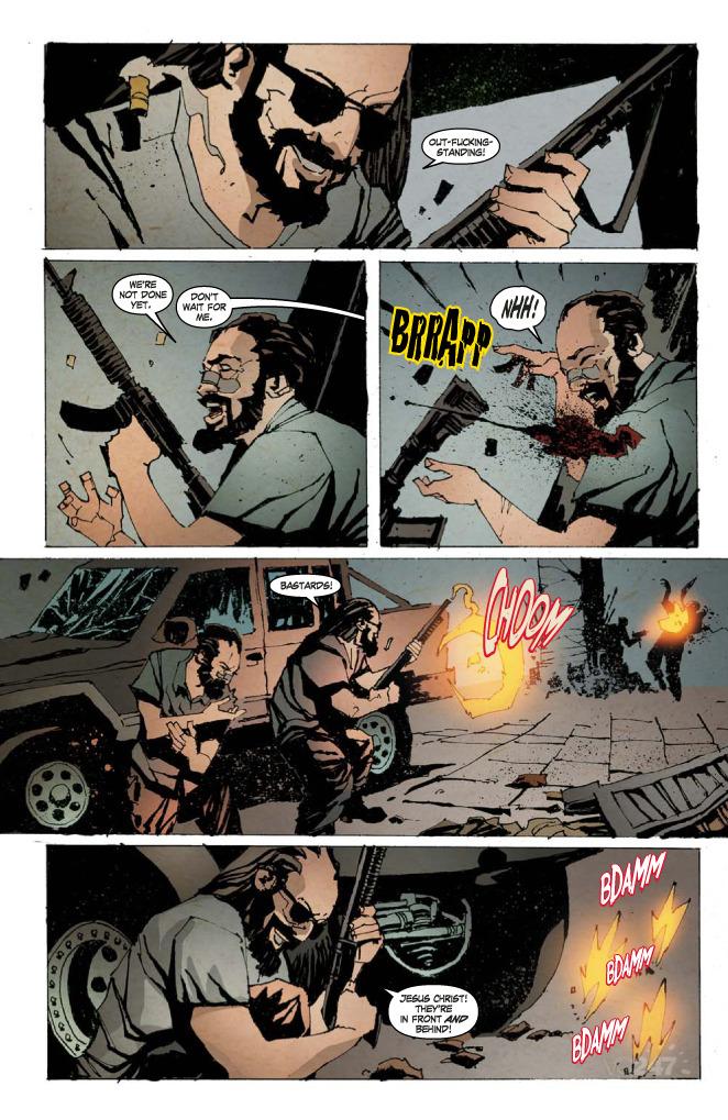 Kane & Lynch 2: Dog Days diventa fumetto