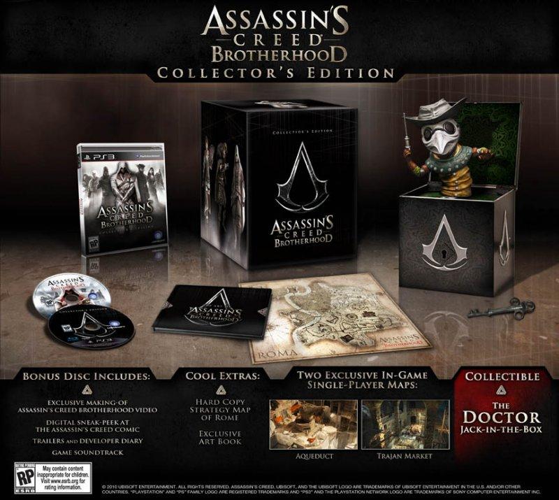 Aggiornata - Rivelata la collector ed. di Assassin's Creed Brotherhood