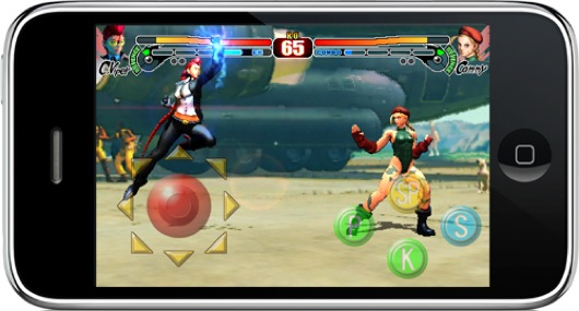 Crimson Viper arriva su Street Fighter IV per iPhone