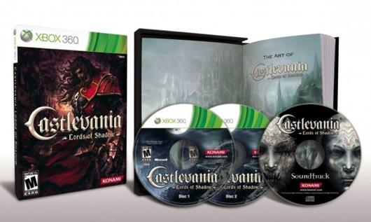 Cancellata la Collector's di Castlevania: Lords of Shadow, anzi no