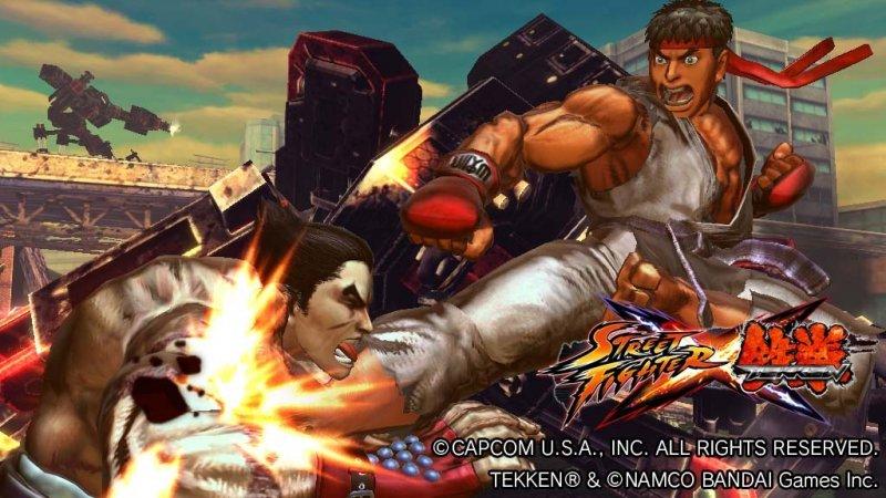 Presto un annuncio per Street Fighter x Tekken