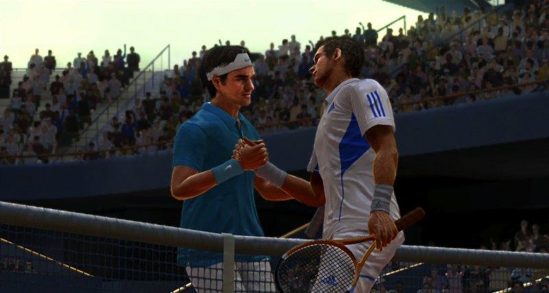 Tennis 3D e in movimento
