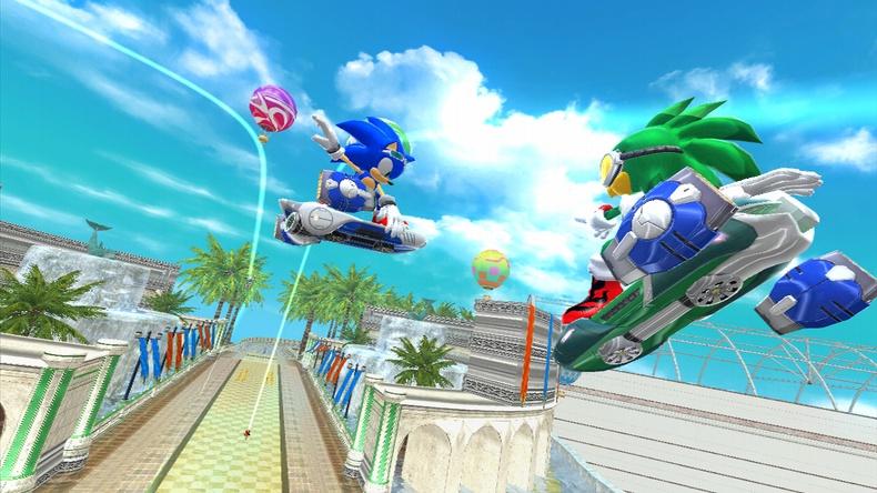Sonic Skateboarder!