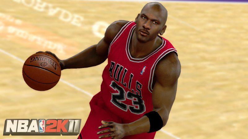 Jordan in screen e video da NBA 2K11