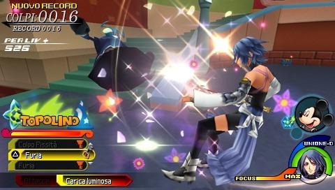 Niente Kingdom Hearts: Birth By Sleep su PSP Go