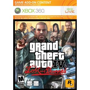 Grand Theft Auto IV: The Lost and Damned per Xbox 360