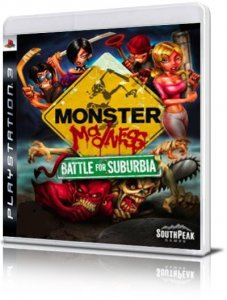Monster Madness: Battle for Suburbia per PlayStation 3