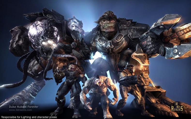 E3 2011 - Duke Nukem Forever permetterà server dedicati su PC