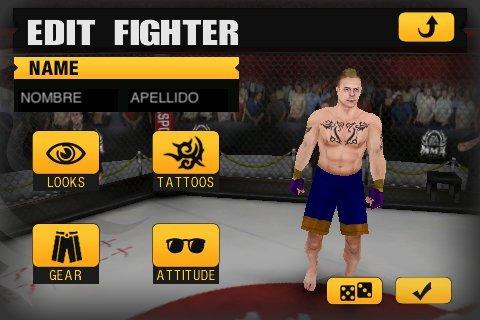 Immagini per EA Sports MMA e The Sims 3 su iPhone