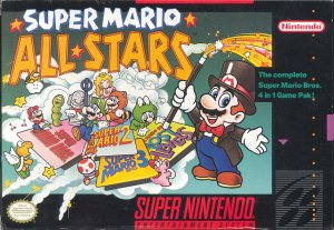 Super Mario All Stars per Super Nintendo Entertainment System