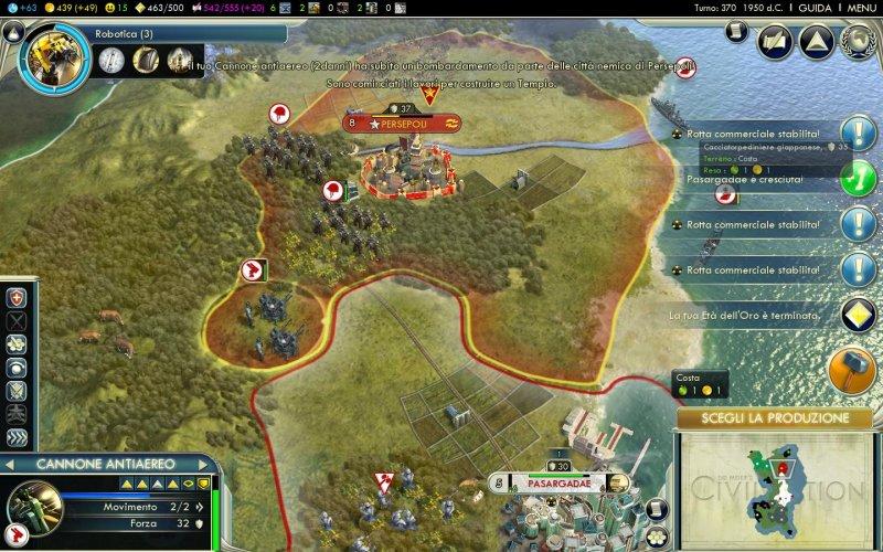 I voti di Edge: 9 a Civilization V