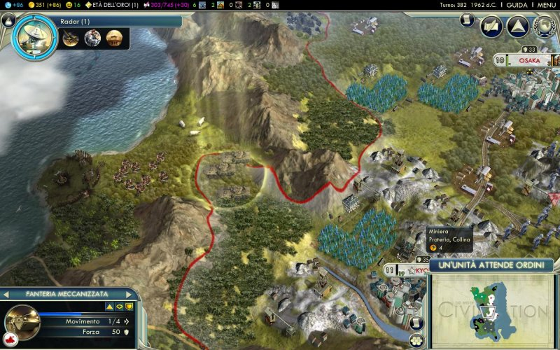 Una grossa patch per Civilization V