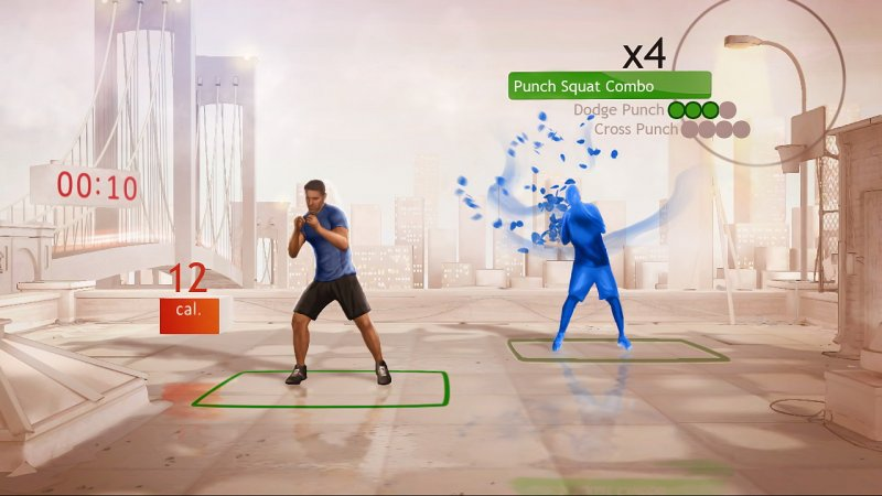 In forma con Kinect