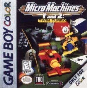 Micro Machines 1 and 2: Twin Turbo per Game Boy Color