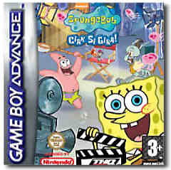 SpongeBob SquarePants: Ciak si Gira! (SpongeBob SquarePants: Lights, Camera, Pants!) per Game Boy Advance