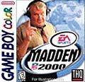 Madden NFL 2000 per Game Boy Color