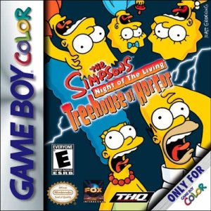 The Simpsons: Night of the Living Treehouse of Horror per Game Boy Color