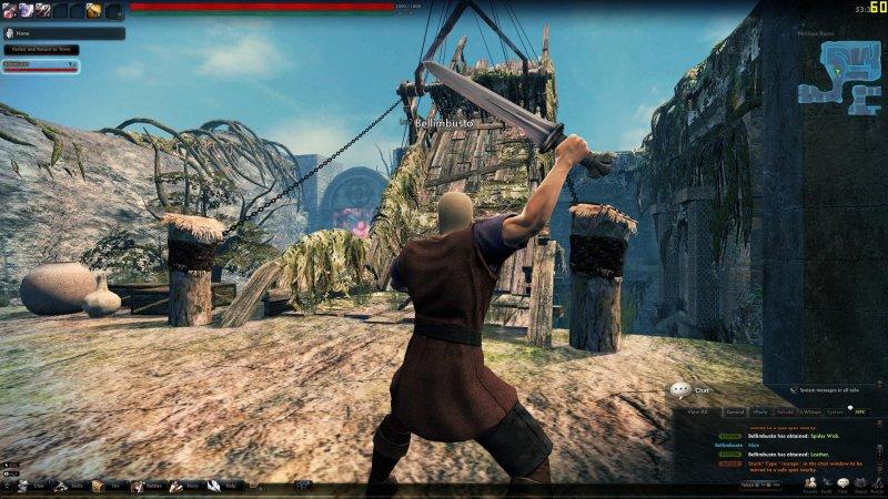 Massive Multiplayer Online Beat'em Up