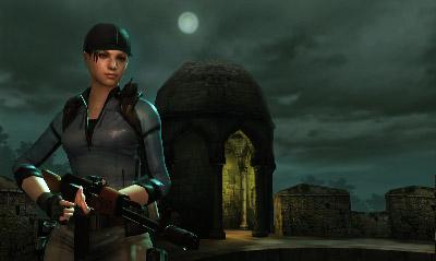 In Resident Evil: Mercenaries si spara mentre ci si muove