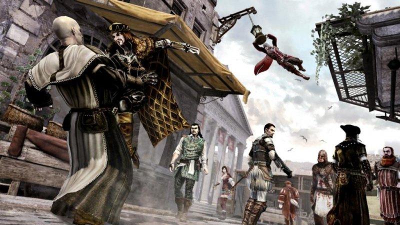 Assassin's Creed: Brotherhood identico su PS3 ed X360