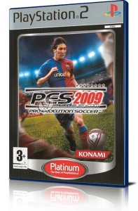 Pro Evolution Soccer 2009 per PlayStation 2