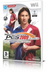 Pro Evolution Soccer 2009 per Nintendo Wii