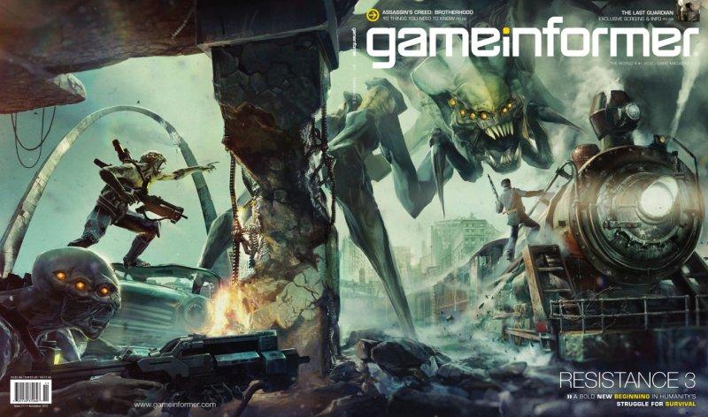Il prossimo GameInformer dedicato a Resistance 3