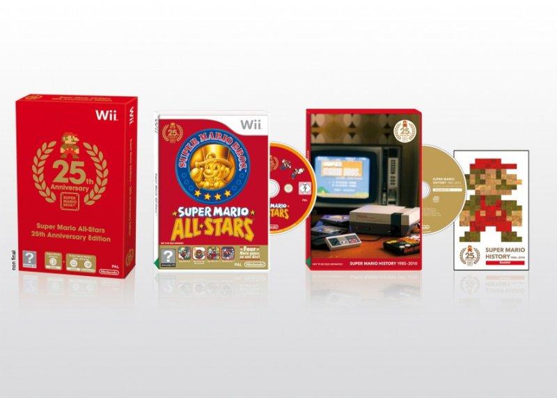 Anche in Europa l'edizione da collezione della serie di Super Mario Bros.