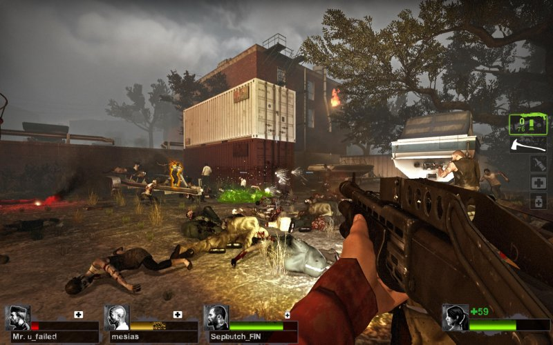 Left 4 Dead 2, nuova sfida su Steam per la beta di Blood Harvest