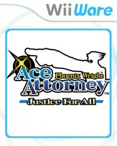 Phoenix Wright: Ace Attorney - Justice For All per Nintendo Wii