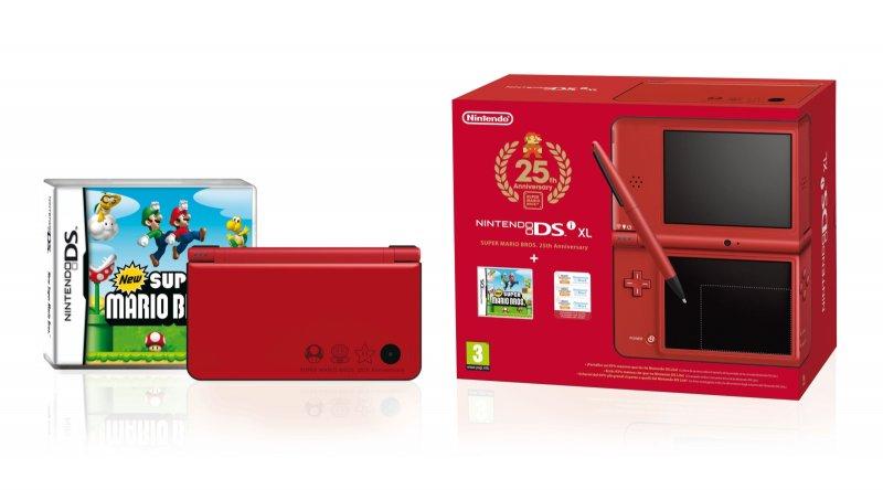 Due pack speciali per DSi e Wii per il venticinquennale di Mario