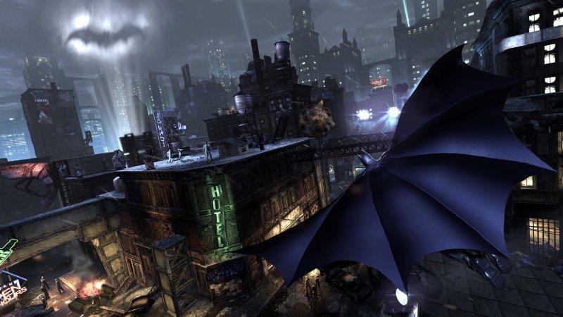 Batman: Arkham City è 5 volte più grande dell'isola di Arkham e altro