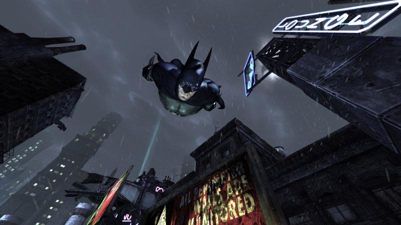 Batman: Arkham City sarà senza Batmobile