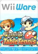 Family Table Tennis per Nintendo Wii