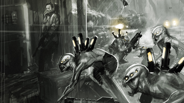 Resistance 3: nuovi artwork da Game Informer