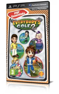Everybody's Golf 2 per PlayStation Portable