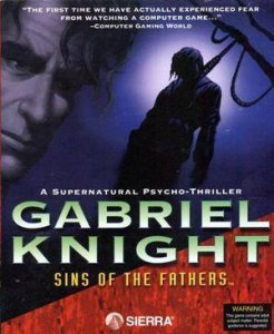 Gabriel Knight: Sins of the Fathers per PC MS-DOS