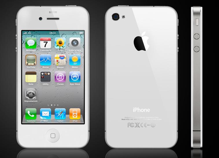 iPhone 4 bianco: rinvio a primavera?