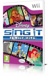 Disney Sing It: Family Hits per Nintendo Wii