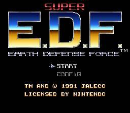 Super E.D.F. - Earth Defense Force per Nintendo Wii