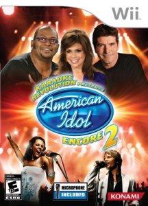 Karaoke Revolution Presents: American Idol Encore 2 per Nintendo Wii